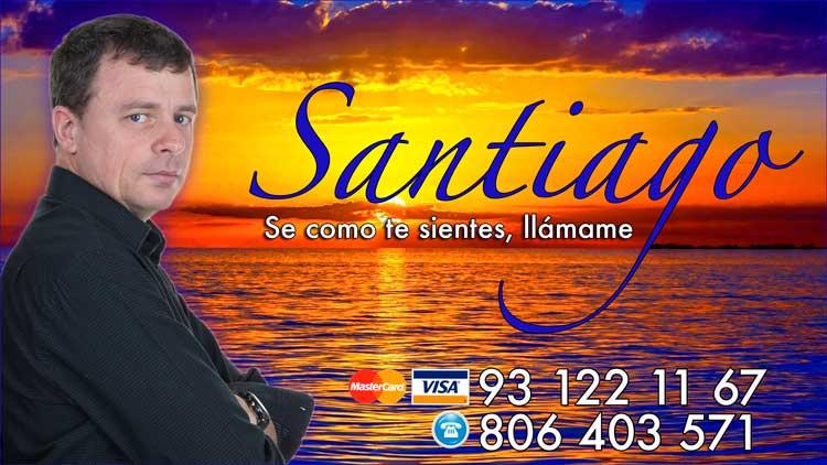 consulta de tarot del amor con Santiago